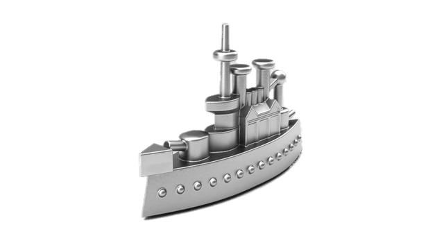 vector library download Monopoly Game Piece Battleship transparent PNG