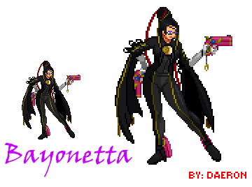 picture royalty free Bayonetta by Daeron