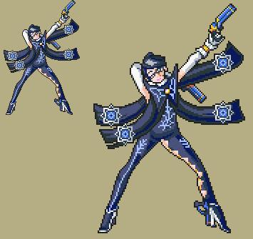 clip art transparent download The umbra witch by. Bayonetta transparent pixel art