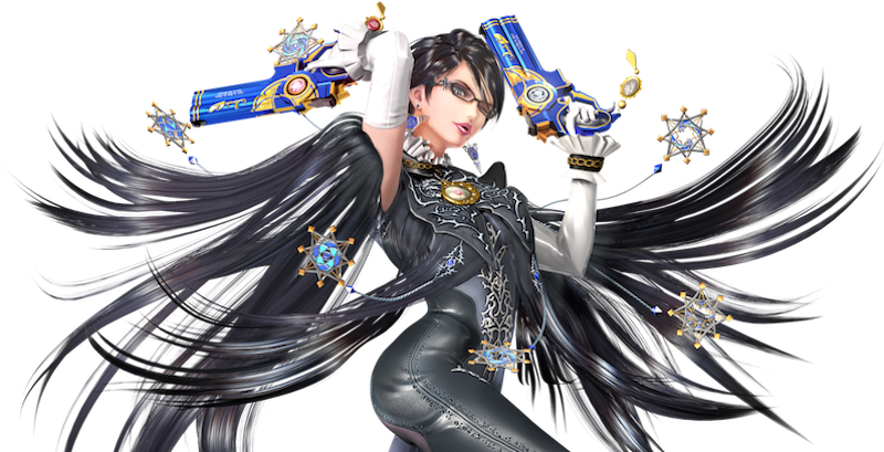 picture library Why some people love. Bayonetta transparent smash