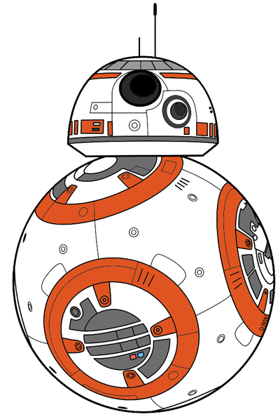 png library Bb8 clipart. Star wars the force.