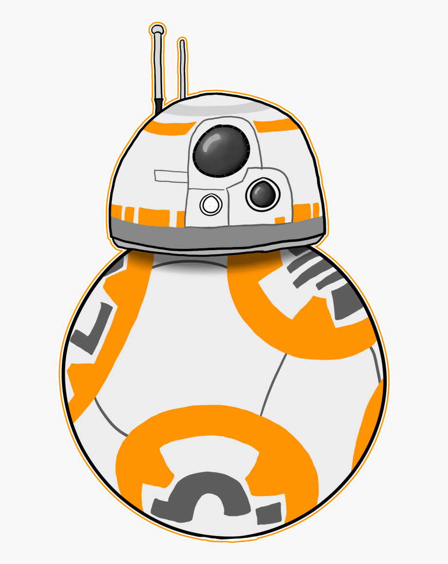 svg library library Bb star wars png. Bb8 clipart