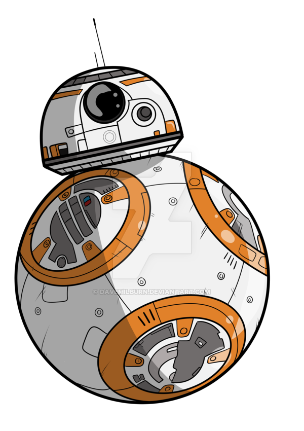 vector royalty free download  collection of bb. Bb8 clipart.
