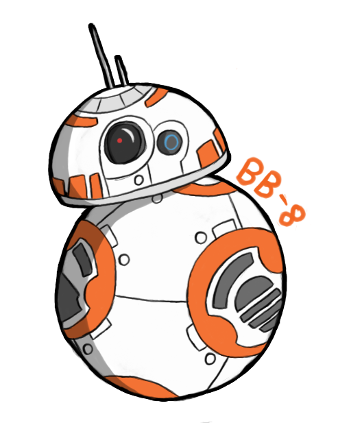 picture royalty free download bb8 transparent cartoon #89974885