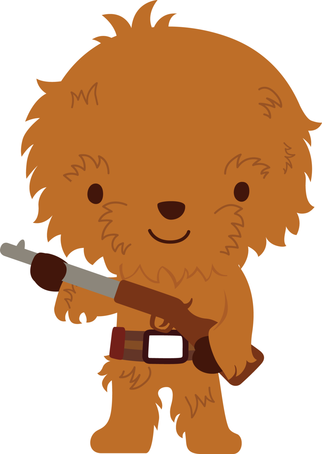 graphic free stock Wars clipart 1 character. Chewbacca by chrispix deviantart