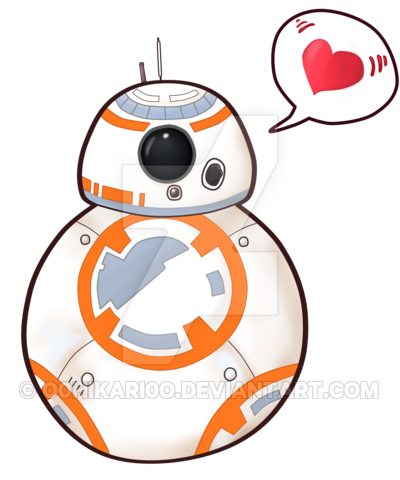 graphic library bb8 clipart movie #23236824