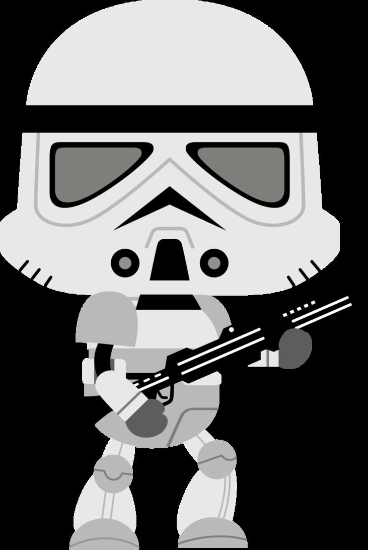banner freeuse stock Bb8 clipart storm trooper. By chrispix deviantart com.