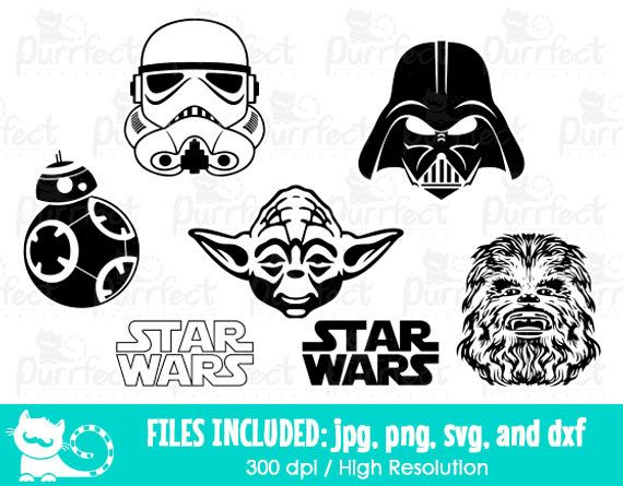 image black and white library Bb8 clipart storm trooper. Star wars svg darth.