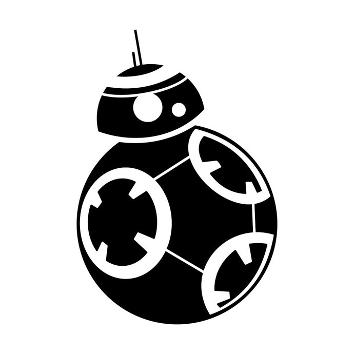 svg freeuse stock Bb star wars graphics. Bb8 clipart vector.