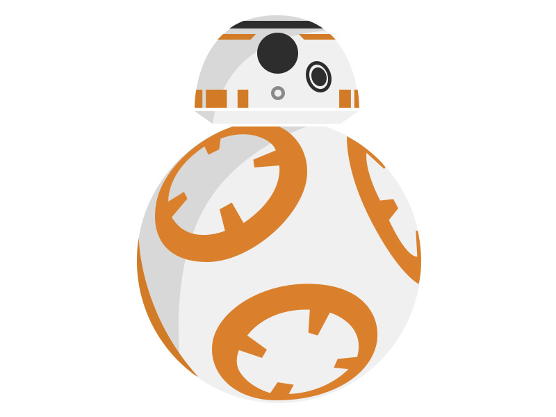 freeuse download Bb8 clipart vector. Bb droid by sameed.