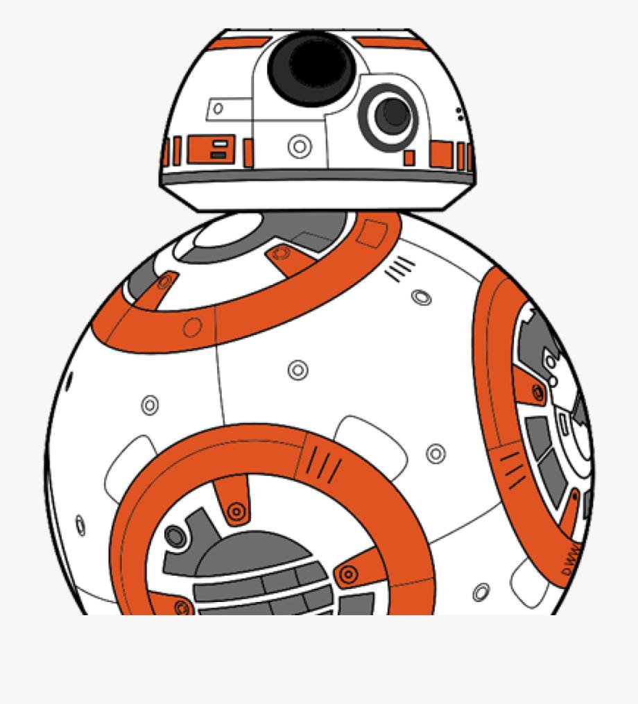 vector transparent Bb star wars cartoon. Bb8 clipart yoda.