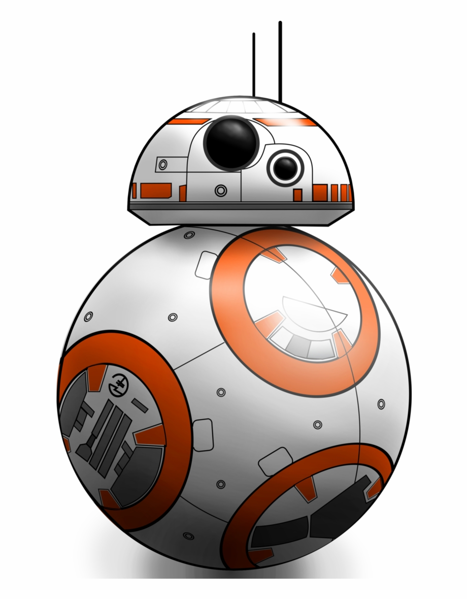 graphic freeuse download Bb8 clipart yoda. Star wars bb clip.