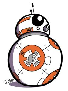clipart freeuse stock Bb8 clipart yoda. Bb transparent free for.