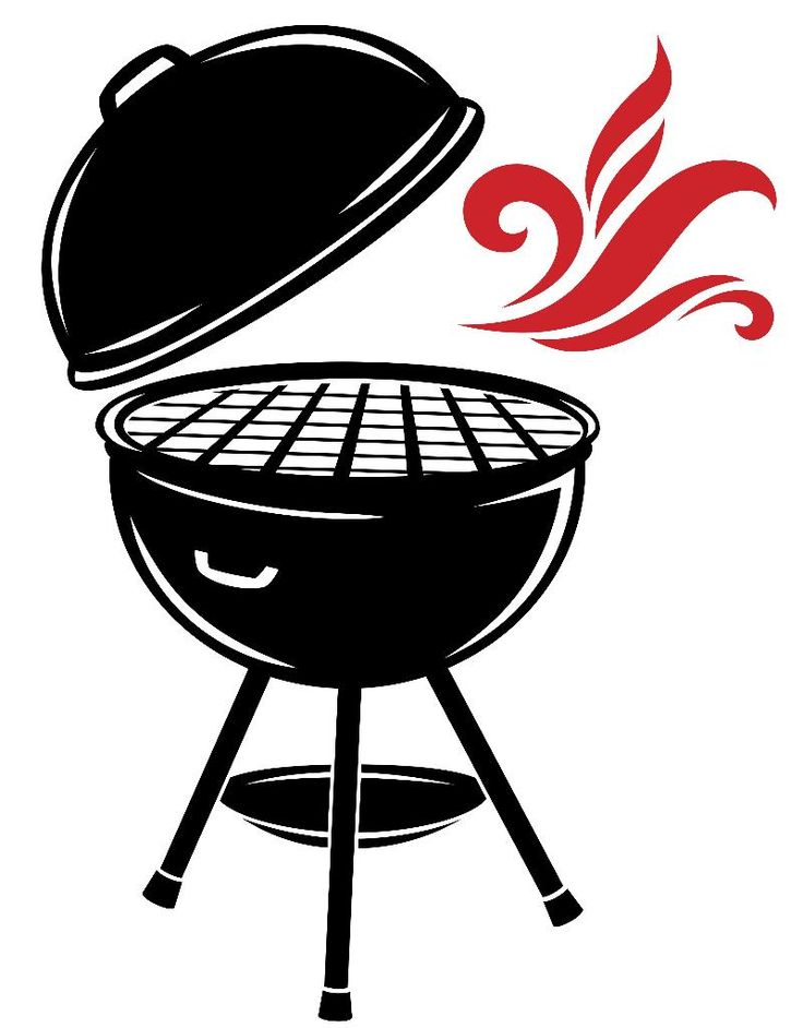 clip transparent Bbq clipart. Free silhouette vector download