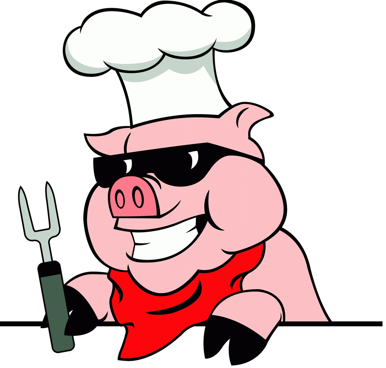 svg library Bbq clipart. Barbecue pig png transparent.