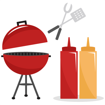 black and white download Grill svg vector. Bbq set cutting files