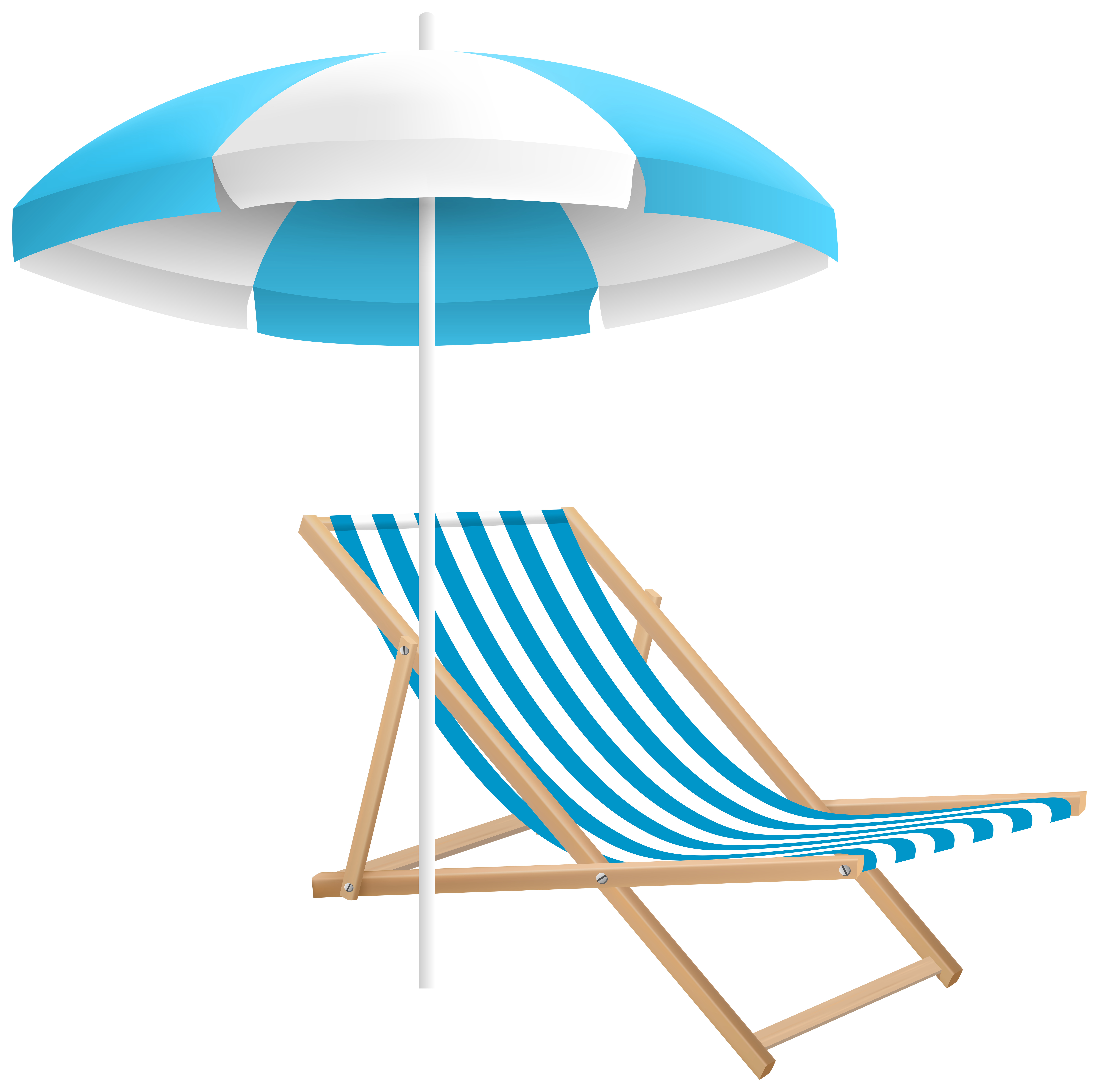 clip art royalty free Beach transparent clipart. Chair and umbrella png