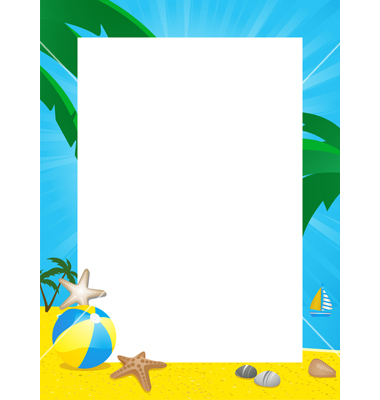 clip art royalty free library Free cliparts borders download. Beach border clipart