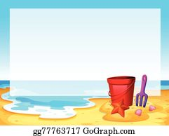 png free library Beach border clipart. Clip art royalty free