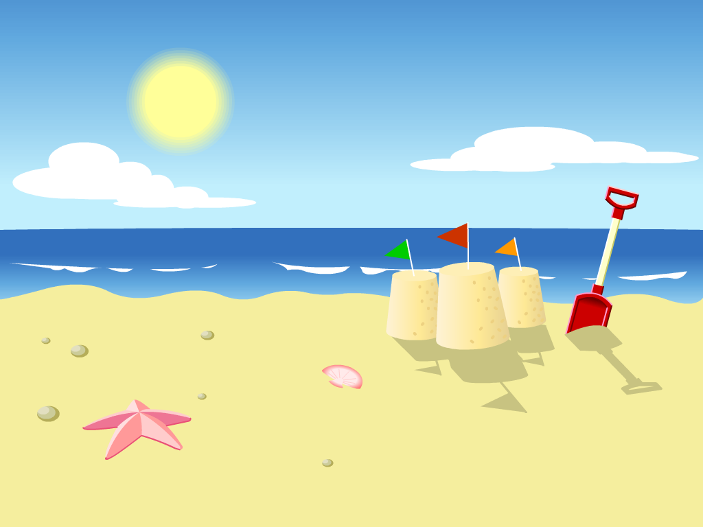 banner freeuse stock Free animated cliparts download. Beach clipart.