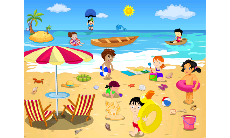 clipart royalty free library Beach clipart. The clip art library