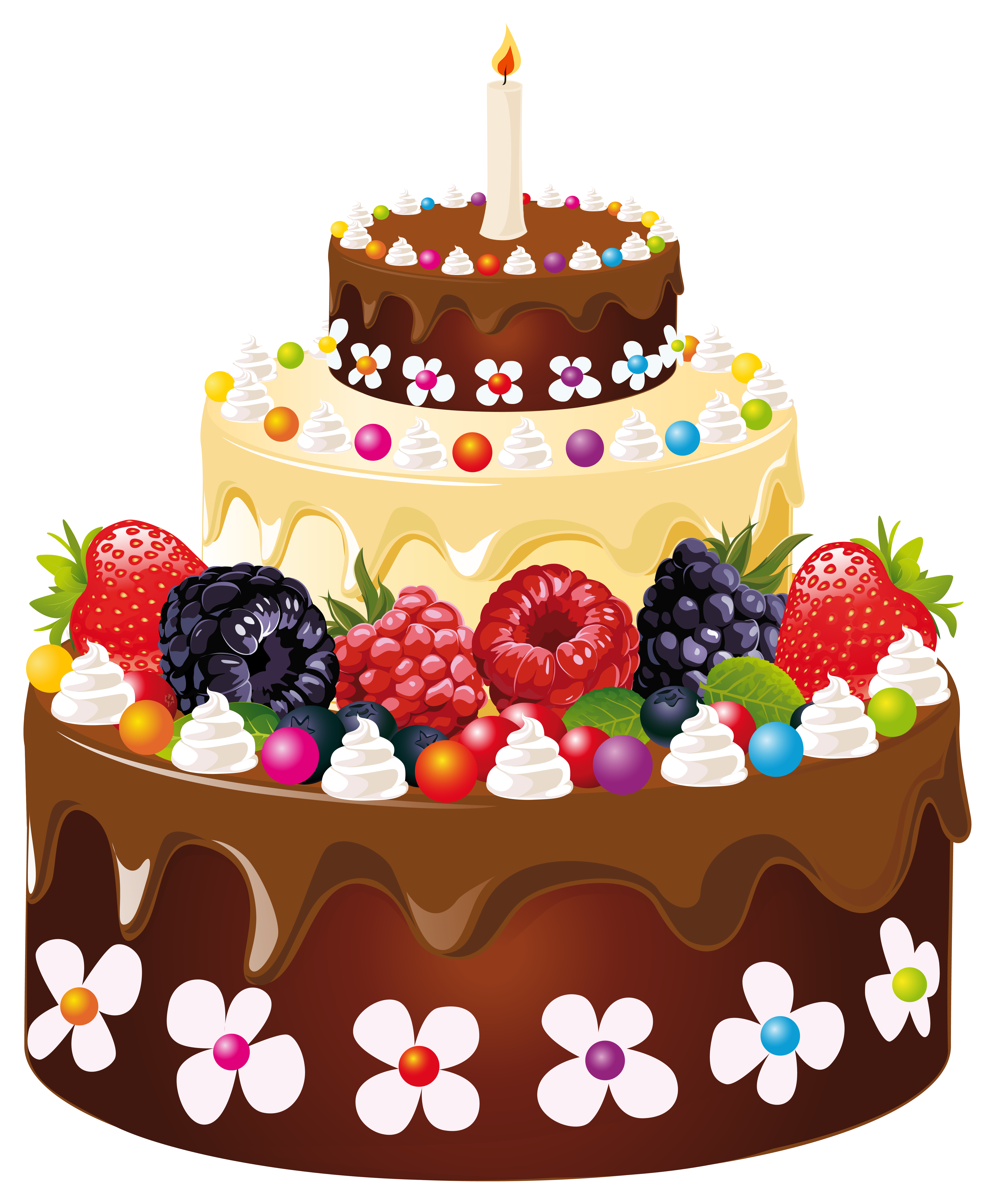 clip royalty free stock Birthday with candle png. Beach clipart cake.