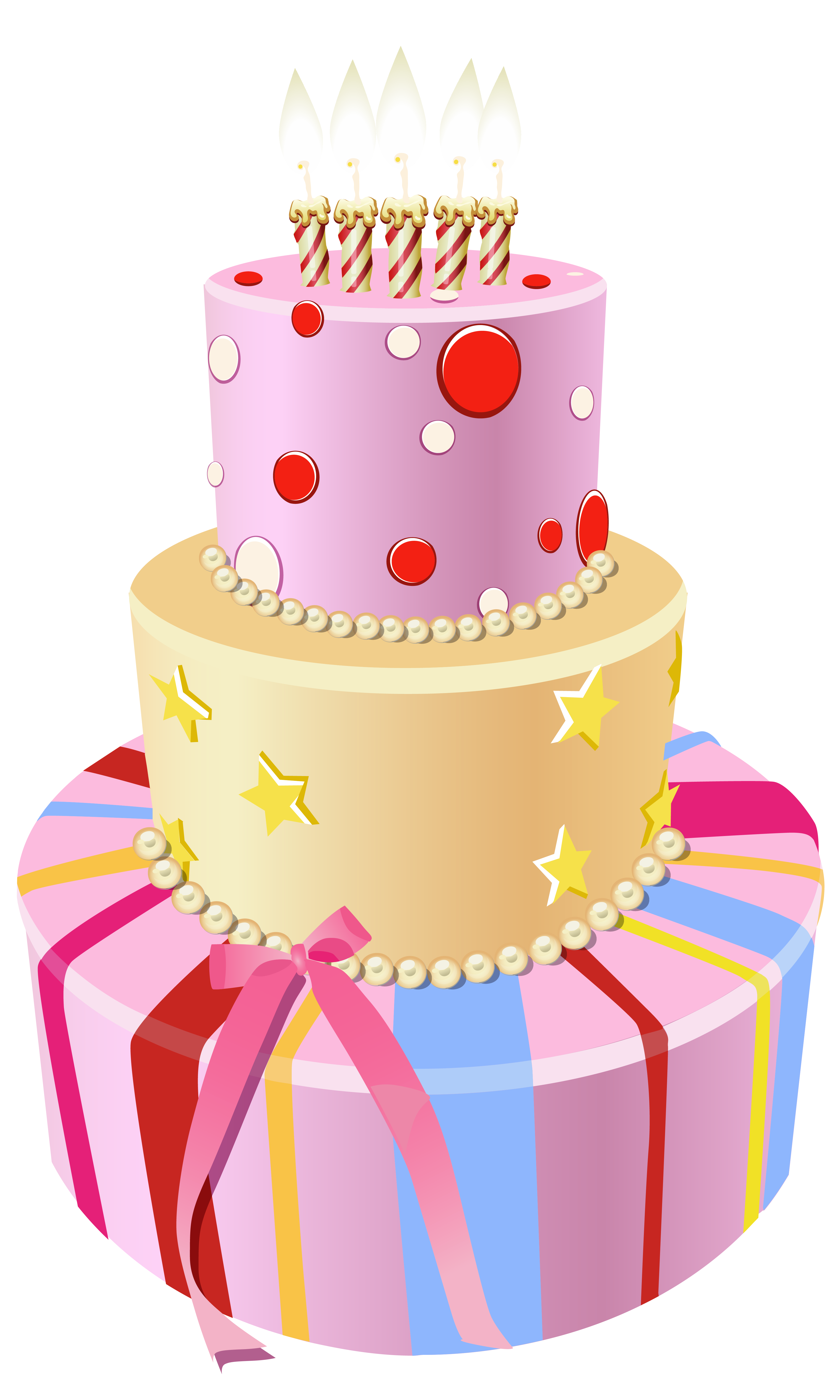svg library stock Beach clipart cake. Pink birthday png image.