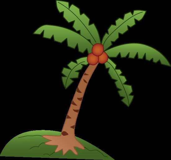 clip stock Botanical accuracy beware of. Beach clipart coconut tree.