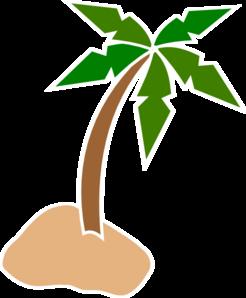 clip download Clip art at clker. Beach clipart coconut tree.