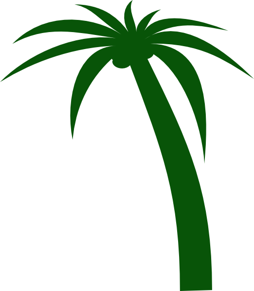 graphic royalty free library Beach clipart coconut tree. Clip art at clker.