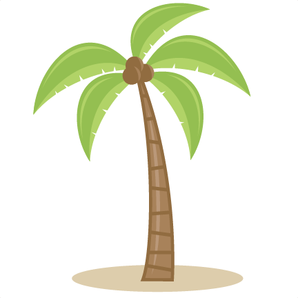 jpg free library Svg cutting files for. Surfing clipart palm tree