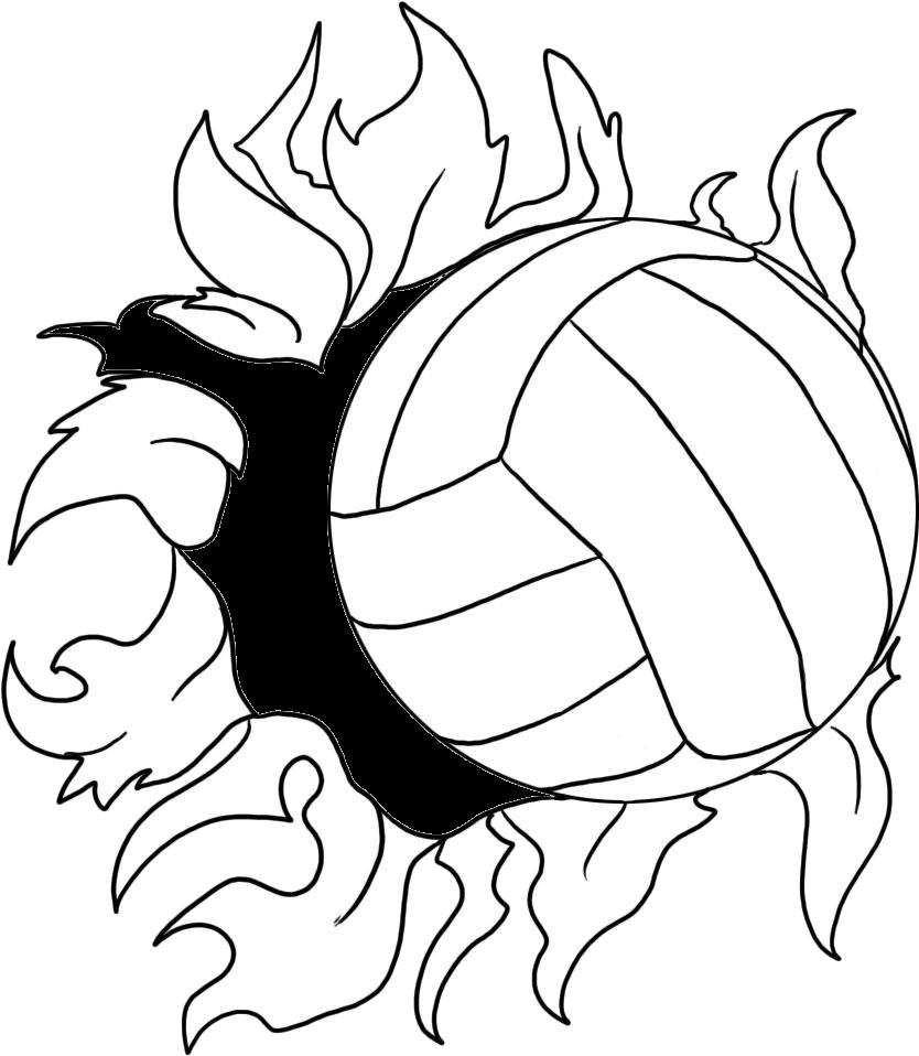 image freeuse stock Beach clipart volley ball. Volleyball panda free images.