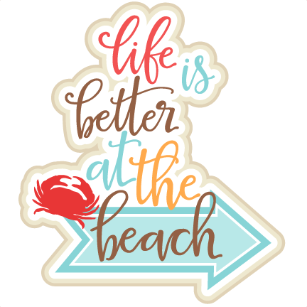 clip free stock Beach life clipart