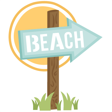 clipart royalty free download Miss Kate Beach Sign SVG Cut File