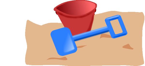 graphic Beach Toys Clipart