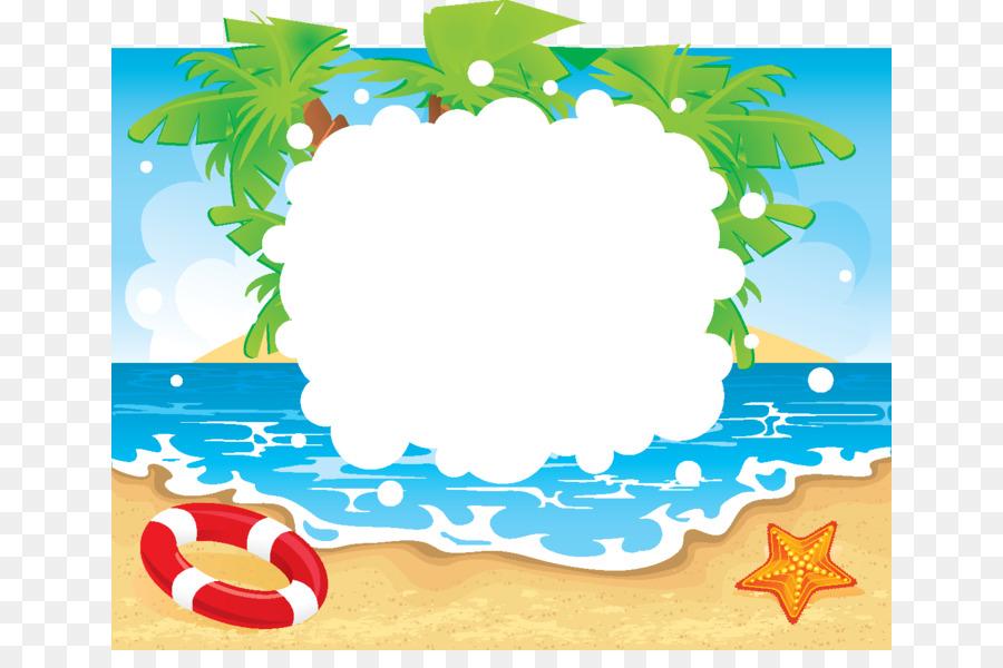 banner transparent stock Flower background . Beach transparent border