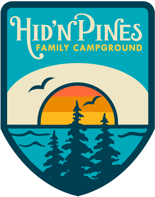 banner free download Beach transparent camping. Hid n pines family
