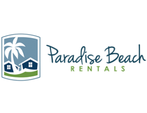 banner free stock Beach transparent paradise. Thank you rentals for