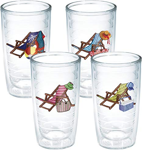 banner black and white stock Beach transparent tumbler. Tervis chair assorted insulated