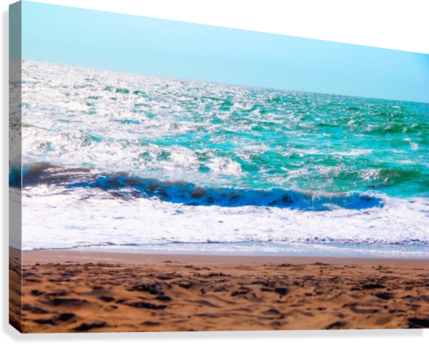 png black and white stock Beach transparent water. Sandy with blue and