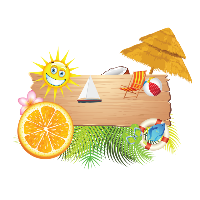 png transparent download Bikini vector summer element. Holiday beach elements vacation