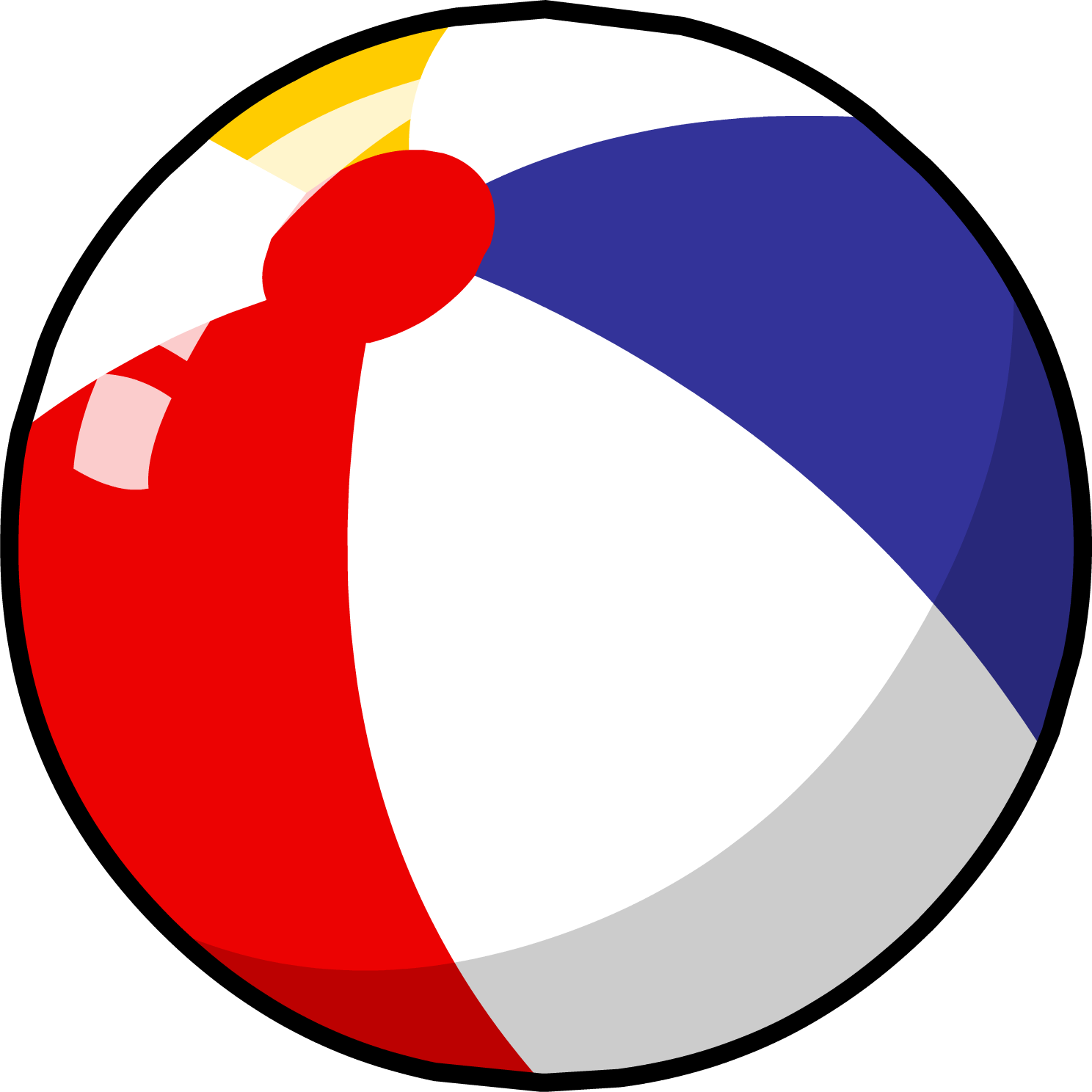 graphic transparent stock Beach ball gear free. Beachball clipart