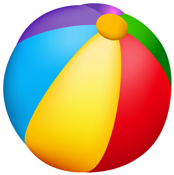 banner Beach ball png vector. Beachball clipart