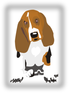 image download Sitting clip art at. Beagle clipart
