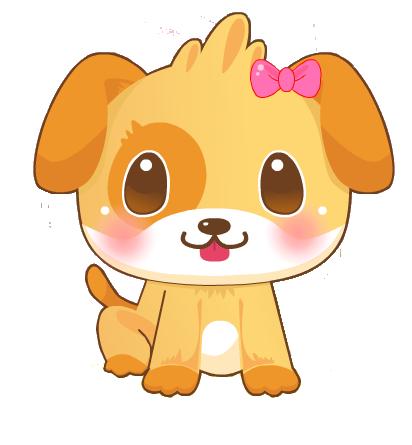 clip art free download chibi cachorro