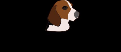 svg free beagle clipart dry dog #23314588