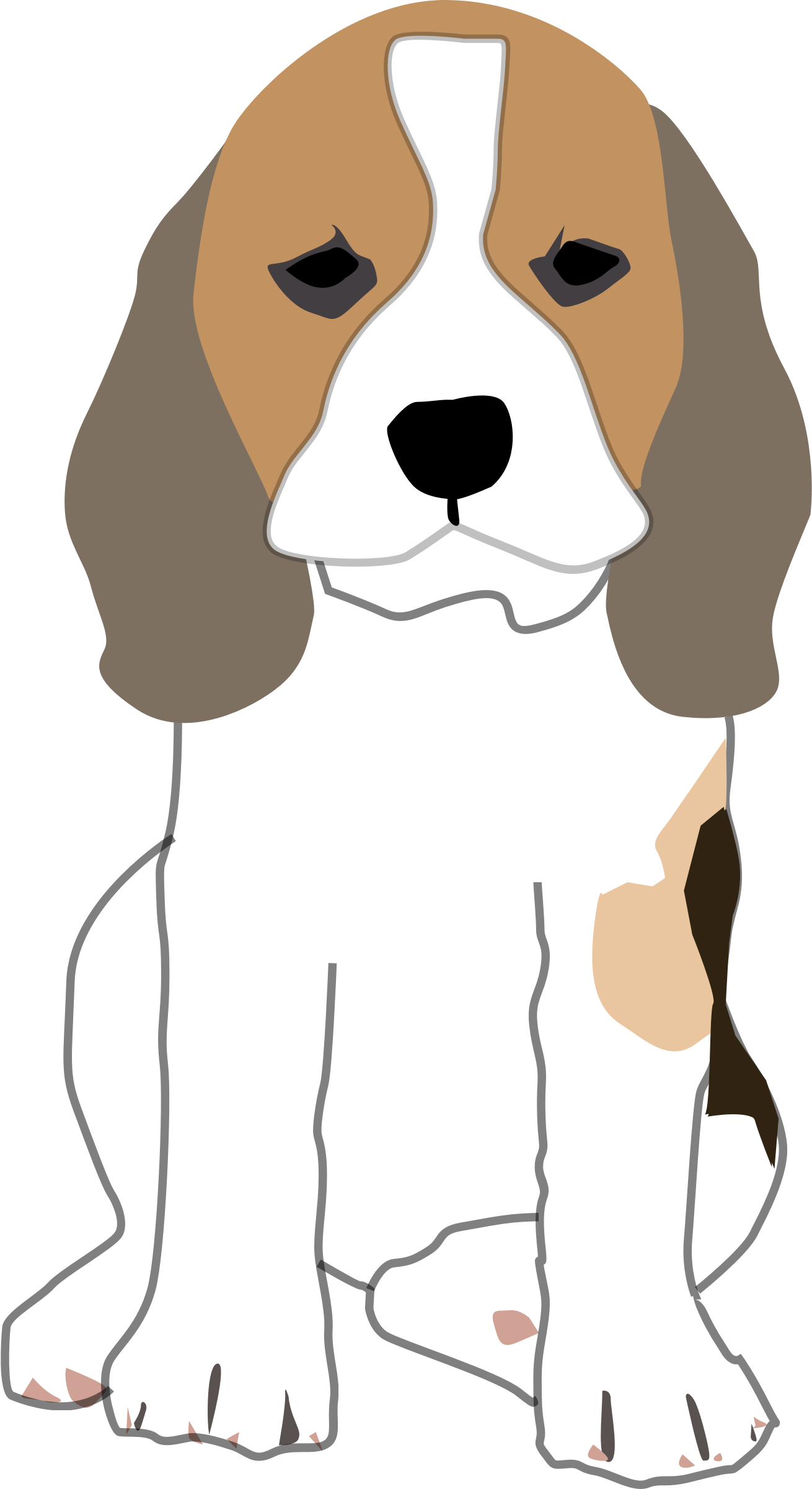 image free library Beagle Puppy by