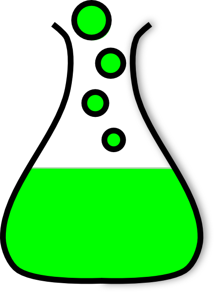 vector All sorts of science. Beaker clipart liquid clipart.