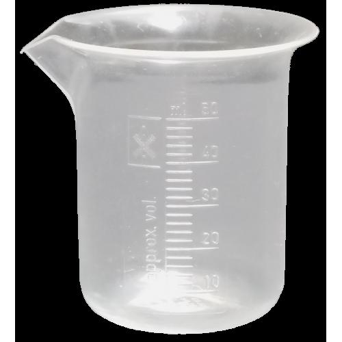 graphic library stock Beaker transparent 100 ml. Plastic pmp pharmasystems