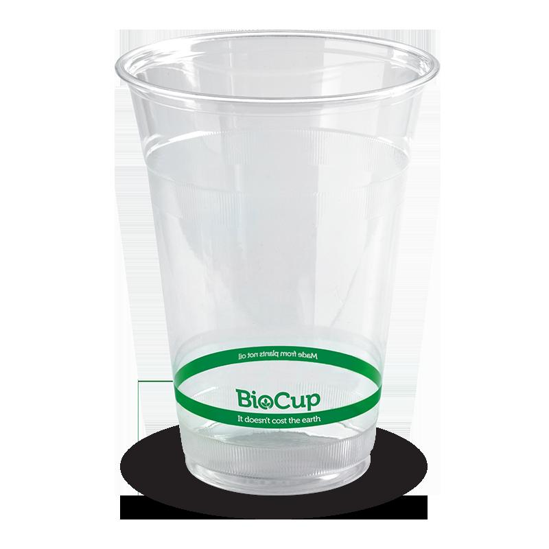 image black and white Beaker transparent 500ml.  ml biocup biopak